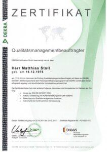 Qualitätsmanagementbeauftragter