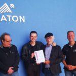 Unternehmensberatung Stoll führt die ATON  zur ISO 9001 Zertifizierung