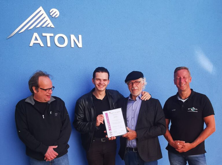 Read more about the article Unternehmensberatung Stoll führt die ATON  zur ISO 9001 Zertifizierung